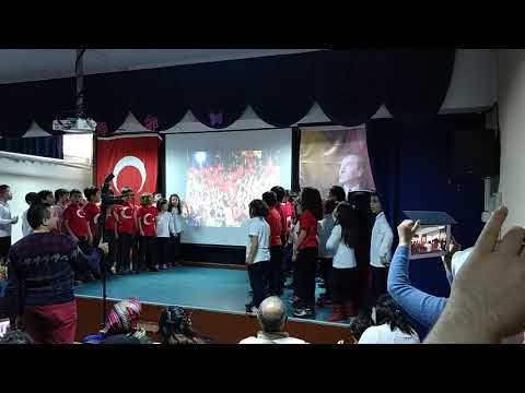 Ay Bizim Yıldız Bizim - Öğretmen Melahat Hüdai Gürbüz İlkokulu 2/E Sınıfı Yener KUYUCU