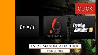 FS 19: Manual Attaching v 1 1 Scripts Mod für Farming