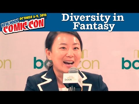 Diversity, Class Systems, and Equality in Fantasy Panel   New York Comic Con 2016