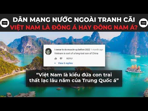 Dân mạng nước ngoài tranh cãi liệu Việt Nam thuộc Đông Á hay Đông Nam Á? | Thán