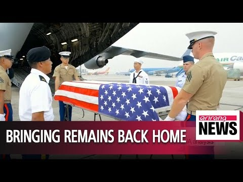 U.S. aircraft in N. Korea to retreive remains of American troops: Report