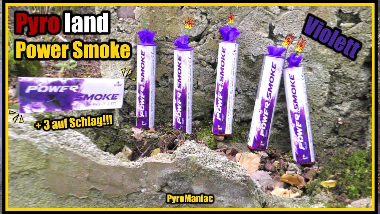 Pyroland Power Smoke Violett | PyroManiac