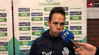 #IJSDBO   Erik van der Ven na afloop van IJsselmeervogels - FC Den Bosch
