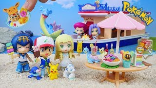 Pokemon Tropical Sweets   Miniature collection   Unboxing Video