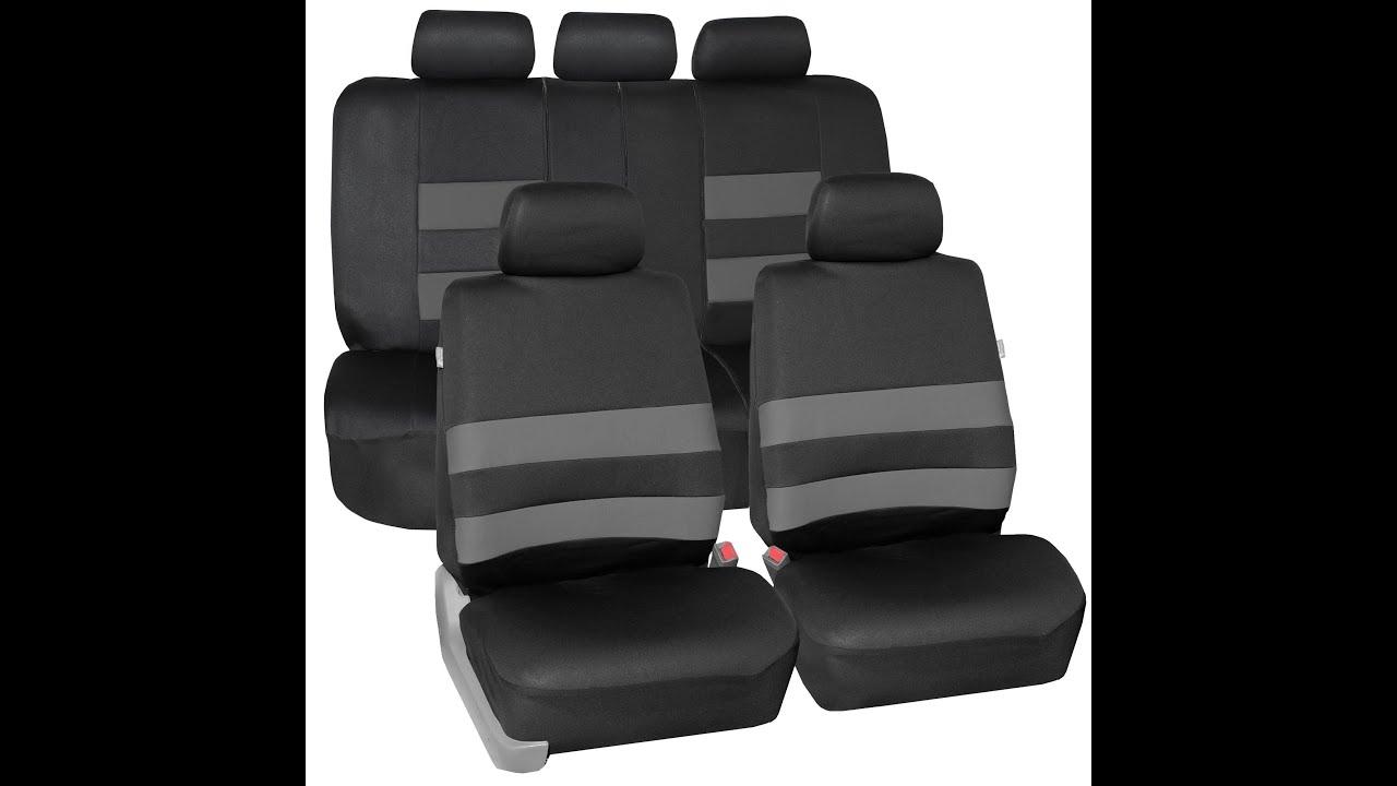 Premium Neoprene Seat Covers FH Group Auto R