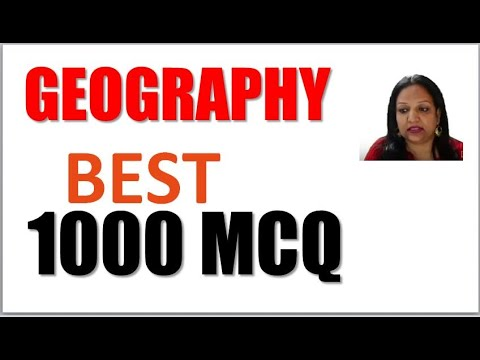Complete Geography 1000 MCQ By Neeru Madam  I Must For Every Exam
