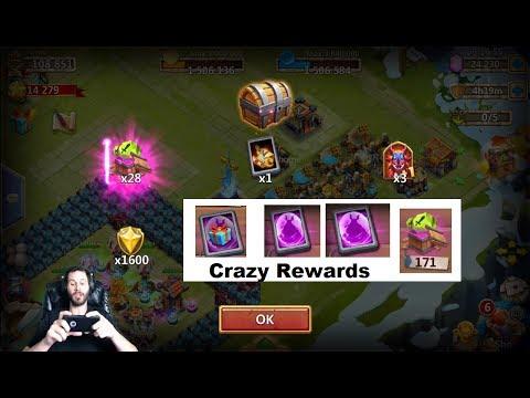 JT's Free 2 Play Legendary Hero Cards Talent Roll + Hero Castle Clash