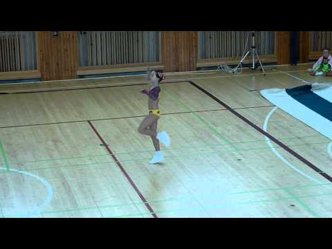 Aerobics - sportovni aerobik solo 11-13 let