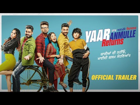 Yaar Anmulle Returns  Trailer  Harish Verma   Yuvraaj Hans  Prabh Gill  releasing 27march