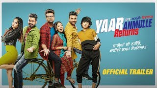 Shree filmz & jarnail ghumaan presents in association with batra show biz they see records the official trailer for upcoming punjabi film 'yaar anmulle ret...