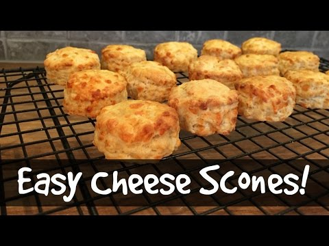 How to Make Cheese Scones!