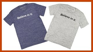 Giveaway! Free Marble Believe in it® Shirt