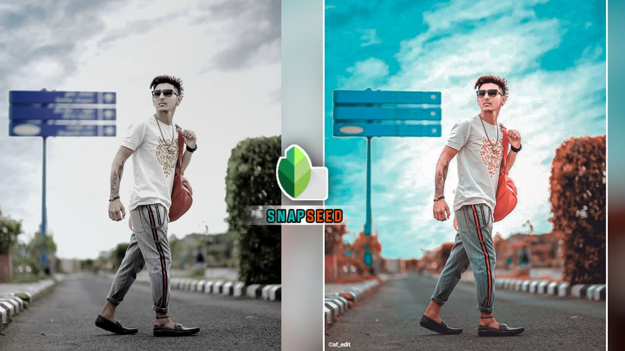 New Snapseed Background Colour Change 😲 | Snapseed Photo Editing - AF EDIT