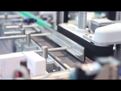 Conveyor For The Production Of Medicines | Stock Footage