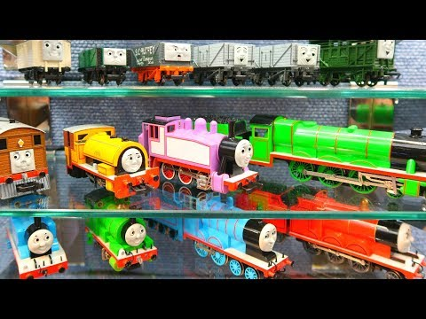 Full Diecast Thomas and Friends Trains and Tank Engines New for 2018  Train Collection Bachmann HO S