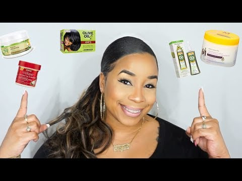 Relaxed Hair Product Haul for 4c hair