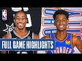 Oklahoma City Thunder vs. San Antonio Spurs Free Picks and Predictions 11/7/19