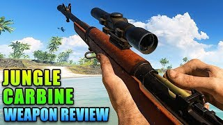 Best Pocket Sniper - Jungle Carbine Review | Battlefield V