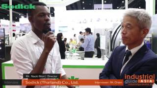 The interview took place during the Manufacturing Expo 2017 Exhibit...