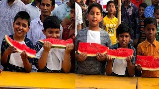 Kids Watermelon Eating Contest | Watermelon Eating Competition