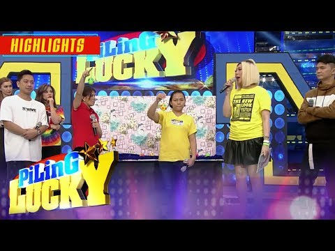 Vice Ganda gives a chance to two lucky madlang people   It's Showtime Piling Lucky