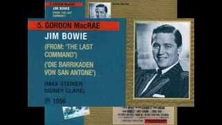 "●{Max Steiner-Gordon MacRae}● *♫♭♪* Theme song for The Last Command ""Jim Bowie"" *♫♭♪* .wmv"