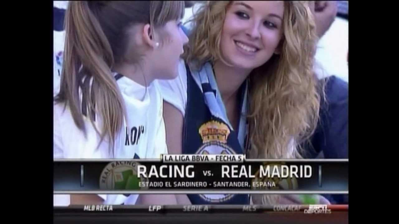 Real madrid girl fans youtube real madrid girl fans voltagebd Image collections