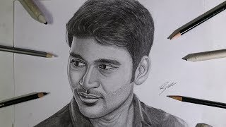 Ennai Nokki Paayum Thotta Dhanush Drawing | Pencil Sketch