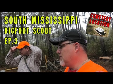 Ep.3 - South Mississippi/Old River WMA Bigfoot Recon