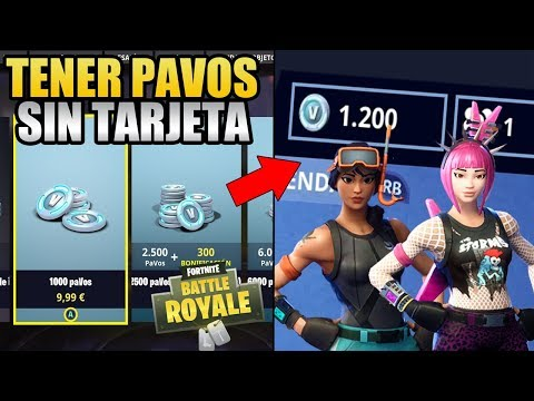 COMO OBTENER PAVOS EN FORTNITE SIN TARJETA DE CRÉDITO | MÉTODO ALTERNATIVO Y LEGAL