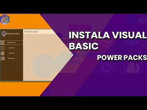 COMO INSTALAR VISUAL POWER PACKS EN VISUAL STUDIO 2019
