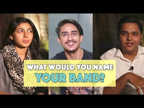 Bolo Pakistan | What Would You Name Your Band? | MangoBaaz