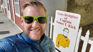 1258 Future Birthplace of CAPTAIN JAMES T. KIRK & Star Trek Museum - Jordan Travel Vlog (3/6/20)