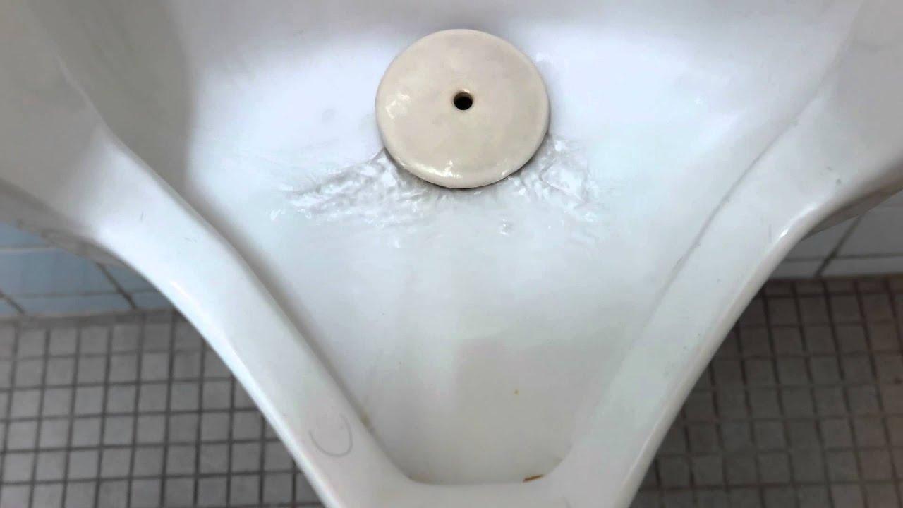 HD版】 TOTO U57 3 Urinal Flushing - YouTube