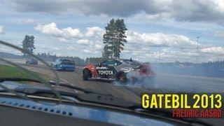 Gatebil 2013 - Fredric Aasbø drifting his 2JZ powered Toyota GT86
