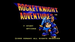 Rocket Knight Adventures, Megadrive