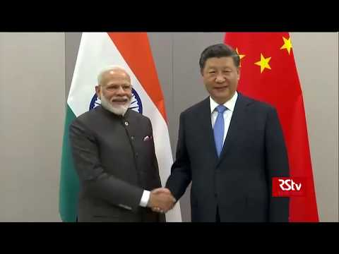PM Narendra Modi meets Chinese President Xi Jinping on the sidelines of BRICS summit