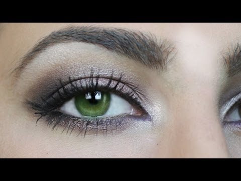 Make Up Fur Grune Augen Tutorial By Kisu Youtube