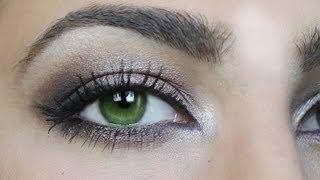 Make Up für grüne Augen! // Tutorial by Kisu