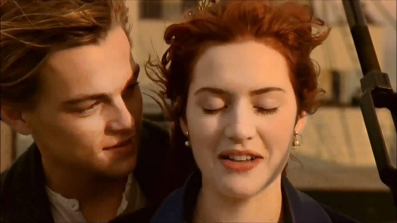 Titanic 1997 Im Flying Scene Youtube