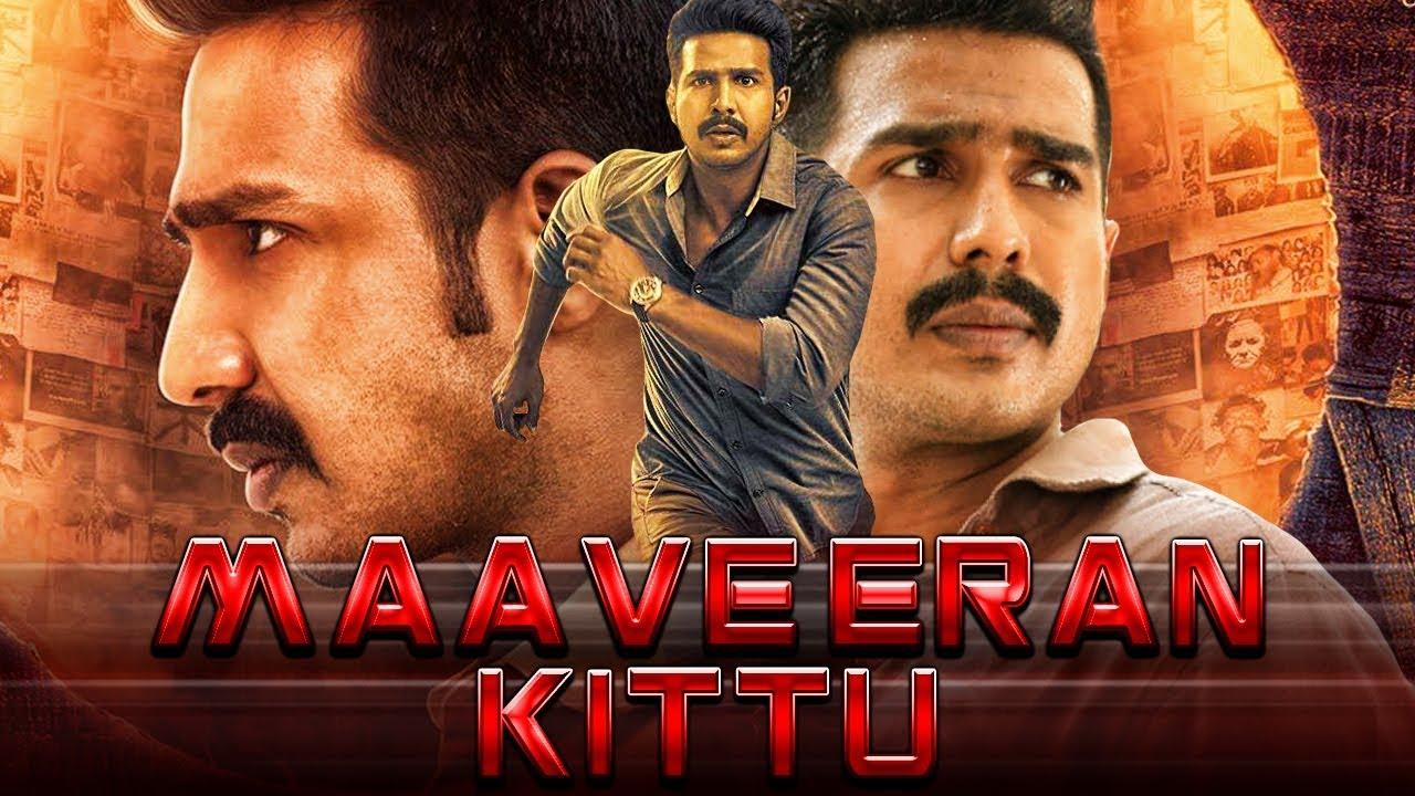 "Vishnu Vishal Blockbuster Hindi Dubbed Movie ""Maaveeran Kittu"" | Sri Divya,  Soori, R  Parthiepan"