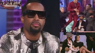 "Slow Motion: Safaree Sister ""Neeq"" & Fiancee Erica Mena Reaction To Reunion Episode..."