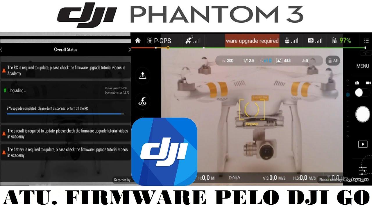 how to download firmware phantom 3