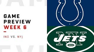 Indianapolis Colts vs. New York Jets | Week 6 Game Preview | Pro Football Focus