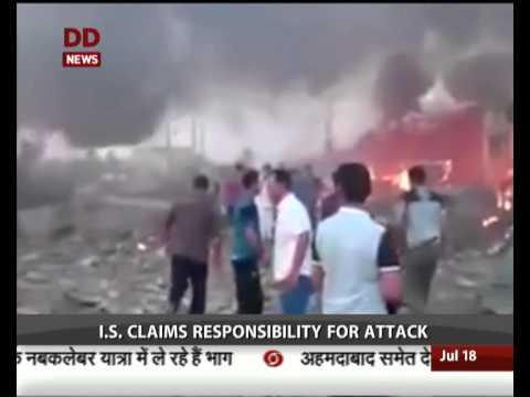 Suicide car bomb kills over 90 in Iraq