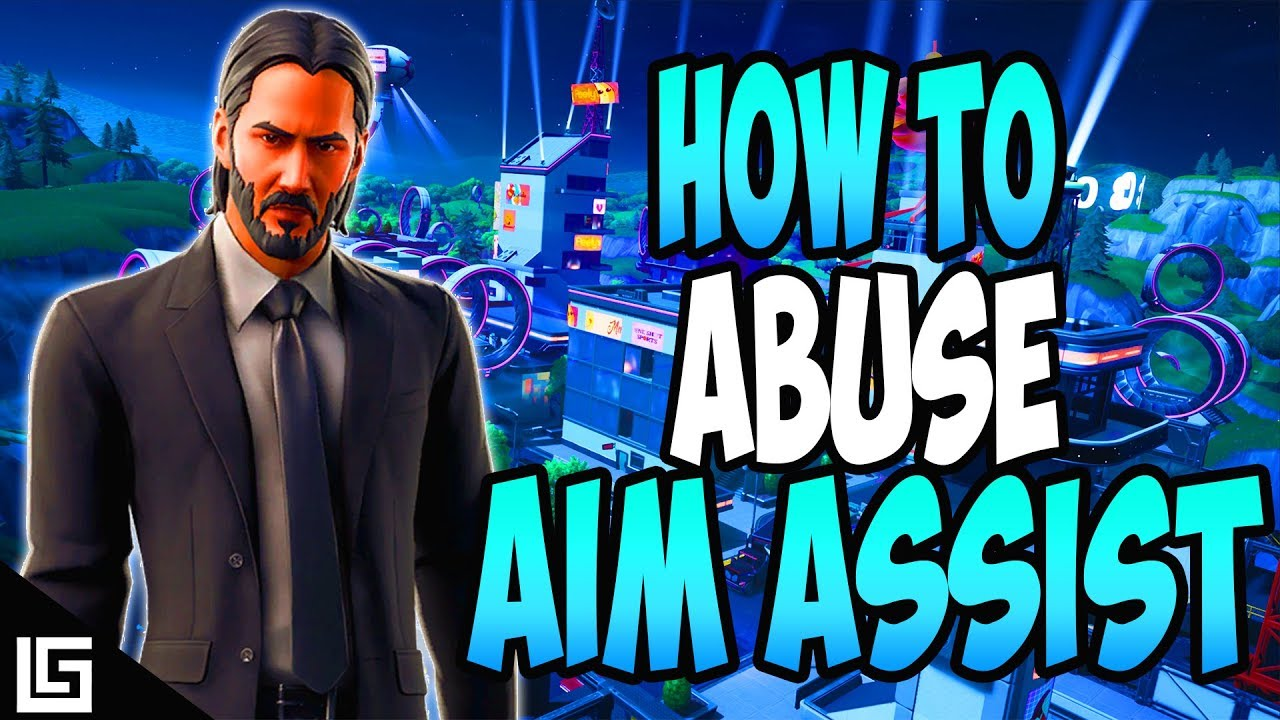 How To Abuse Aim Assist Fortnite - YouTube