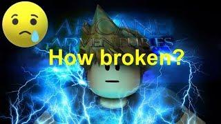How broken is Arcane Adventures now? - Roblox Arcane Adventures