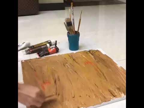 #RNAVIRAL Wow pandainya Anzalna Nasir melukis