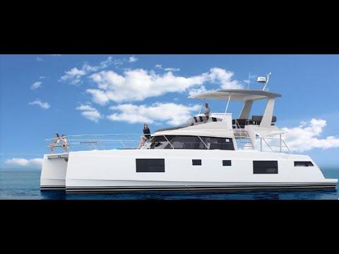 Nautitech 47 Power catamaran World Premiere at dusseldorf 2018!