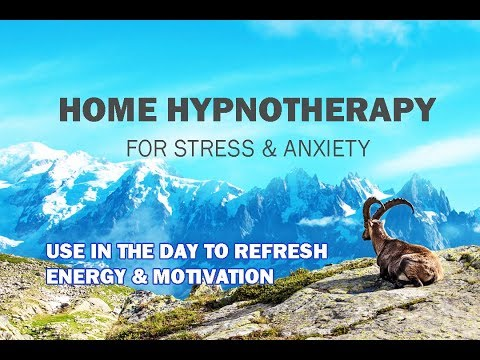 Day Time Hypnosis For Stress (Energy And Motivation)